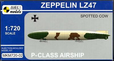 Mark I Models 1/720 ZEPPELIN LZ 47 P-CLASS AIRSHIP SPOTTED COW