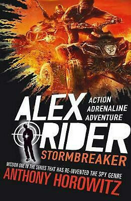 Stormbreaker by Anthony Horowitz Paperback Book Free Shipping!