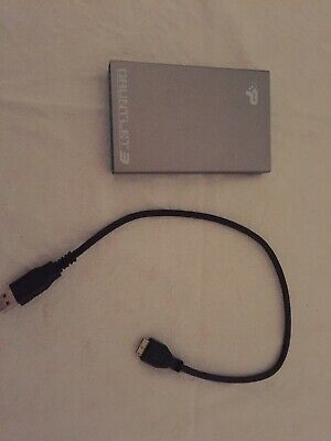 PATRIOT Gauntlet 3 Portable Hard Drive 111 Gig & USB Cable - In Working Order