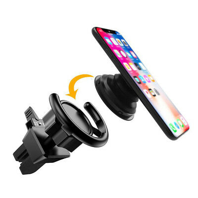 Holder Car Mount for Air Vent Mobile Clip Hands Cell Phone Socket