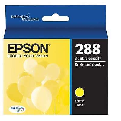 NEW Epson 288 Yellow Ink Cartridge T288420