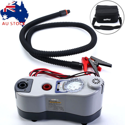 Electric Air Pumps BRAVO 12V BTP12 For Inflatable Boats SUP Boards Tent Kites AU