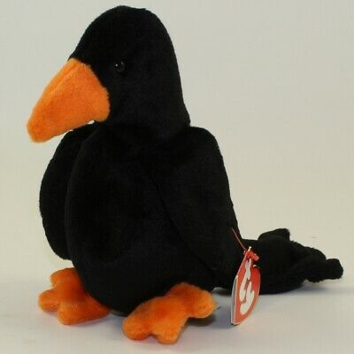 TY BEANIE BABY - CAW the Black Crow (3rd Gen Hang Tag - MWNMTs ... 9b51b44c718d