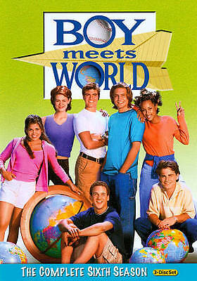 NEW Boy Meets World The Complete Sixth Season 6 (DVD 2011 3-Disc Set) SHIPS FREE