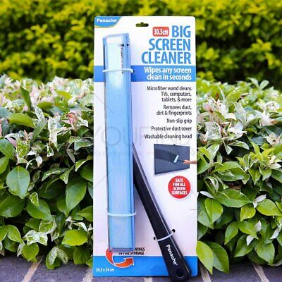 Big Screen Cleaner 30.5cm Washable Cleaner Microfiber Cover TV LCD LED AU Stock