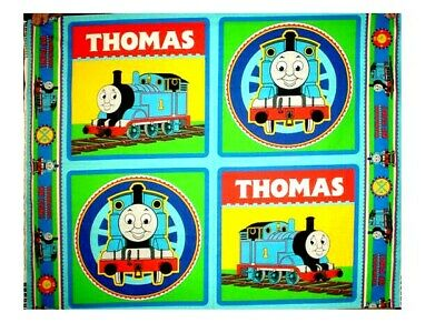 THOMAS  THE  TRAIN  4  PILLOW TOPS  PANEL   MAKES 2 Pillows or 4 Pillow Tops