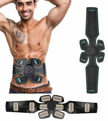 New ABS Core Power Training EMS Abdominal Back Fitness Muscle Trainer Stimulator
