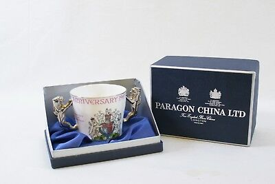 Paragon China 1947-1972 Queen Elizabeth II Silver Wedding Anniversary Cup