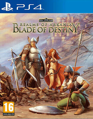 Realms of Arkania: Blade of Destiny (PS4) BRAND NEW AND SEALED - QUICK DISPATCH