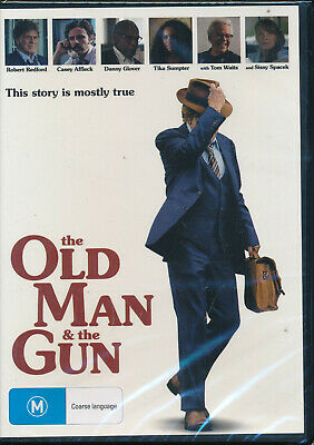 The Old Man And the Gun DVD NEW Region 4