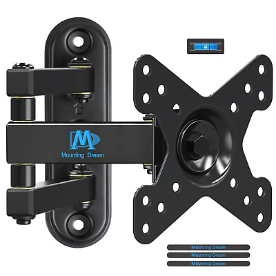 Mounting Dream TV Wall Bracket Monitor Mount Swivel and Tilt for Most 10-26...