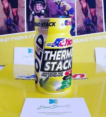 PROACTION GOLD THERMO STACK  BARATTOLO 90 CPR  accelera il metabolismo