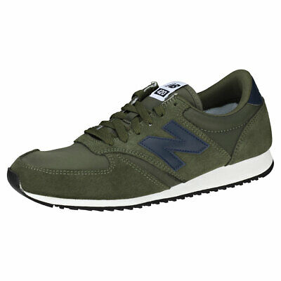 taille 40 520ca d0255 NEW BALANCE 420 Classic 70's Running Mens Green Navy Classic Trainers