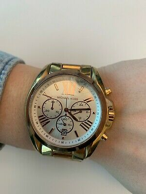 7ce524121500 Used Michael Kors Gold RoseGold Watch  MK5651