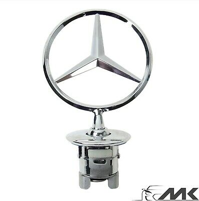 Mercedes C  E S Bonnet Badge Emblem Mascot Star 44Mm W201 W211 W212 W213 W221