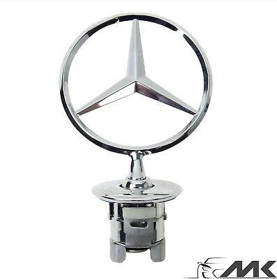 Mercedes C W221 E W211 Bonnet Badge Emblem Mascot Star W212 W213 W222  44Mm
