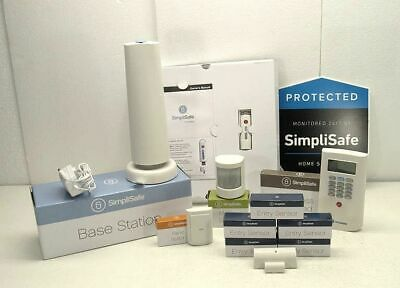 Simplisafe Wireless Home Alarm System Security 11 Piece BO7HM9QCW6 NEW