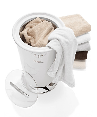 Brookstone Towel Warmer Extra Large Brand New Unit Blanket Mittens Robes Spa