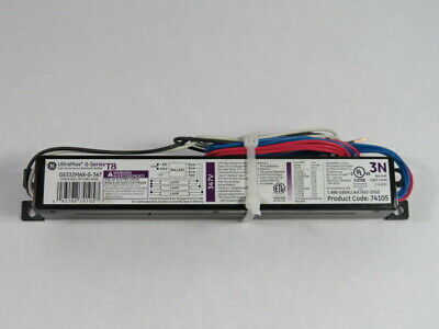 General Electric GE332MAX-G-347 Electronic Ballast Code 74105 347V 60Hz ! WOW !