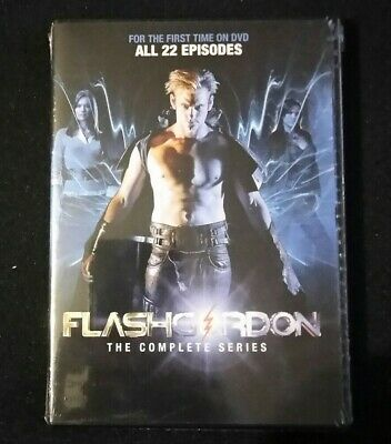 Flash Gordon: The Complete Series (DVD, 2013, 4-Disc Set) Sealed Brand New