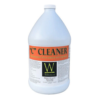"""Walttools """"C"""" Cleaner and Degreaser for Concrete (1 gallon)"""