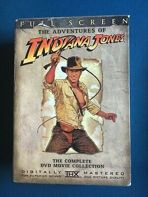 The Adventures of Indiana Jones: The Complete Movie Collection DVD 4 Disc Set