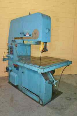"36"" Tannewitz Model #3600 Mh Vertical Bandsaw: Yoder #52148"