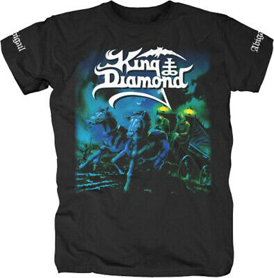 King Diamond Abigail Power Heavy Speed Metal Rock Music Band T Shirt 12821001