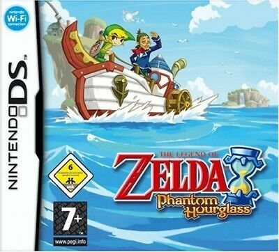 Nintendo DS game - The Legend of Zelda: Phantom Hourglass EN/GER cartridge