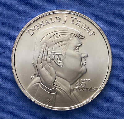 Donald J. Trump 45th President The White House 1 oz .999 Silver