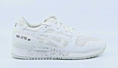 more photos c8e51 9e3a7 ASICS GEL-LYTE III NS Men's White/White Running Shoes Size 7.5 H618N-0101
