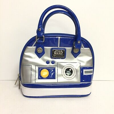 c3aee70ffb1 LOUNGEFLY X STAR Wars R2D2 Applique Mini Backpack -  35.75
