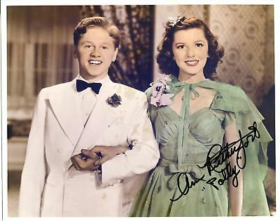 Photographs Autographs-original Confident Ann Rutherford Signed Gone With The Wind Index Card 1986 Autograph