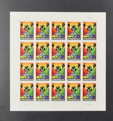 Us Scott 4584 Pane Of 20 Kwanzaa Forever Stamps Mnh
