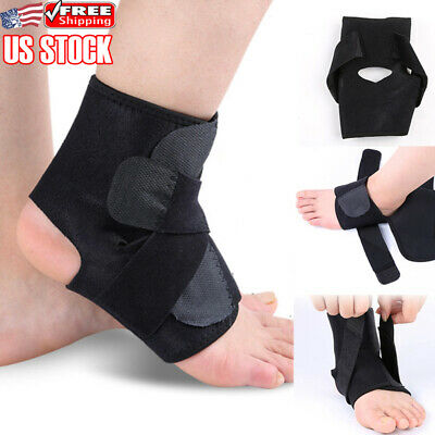 Adjustable Sports Elastic Ankle Brace Support Basketball Protector Foot Wrap 1PC