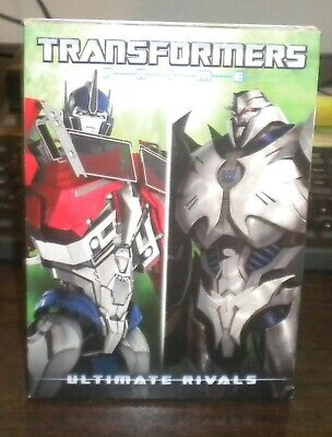 New Sealed Transformers Prime Ultimate Rivals (DVD, Animation, 2017)c
