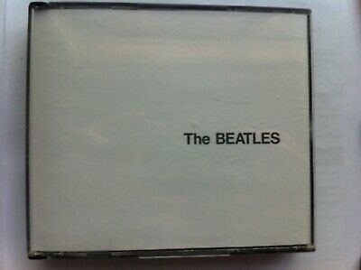 THE BEATLES - Self Titled S/T White Album (2 x CD, 1989) Fat Box, Made in Aust
