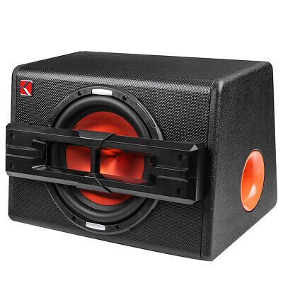 10'' 1200W Pro Car Active Boxed woofer BASS HiFi Powered Amplifier Amp