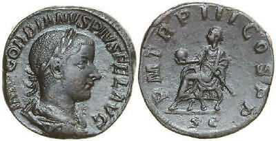 GORDIANUS III 238 - 244 AD. Æ Sestertius, 19.38g. RIC 394a Near Extremely Fine