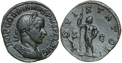 GORDIANUS III 238 - 244 AD. Æ Sestertius, 15.57g. RIC 298a Near Extremely Fine