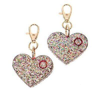Ahh!-larm Personal Alarm by Blingsting 2-pack Confetti Glitter Heart