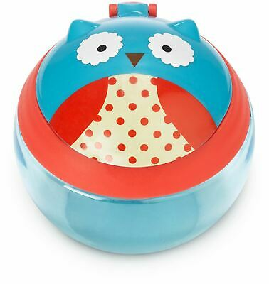 Skip Hop ZOO SNACK CUP - OWL Baby Feeding Cups Dishes Utensils BN
