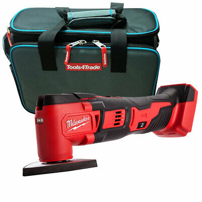 Milwaukee M18BMT-0 M18 18V Compact Multi Tool Body With T4T2630 Tool Storage Bag