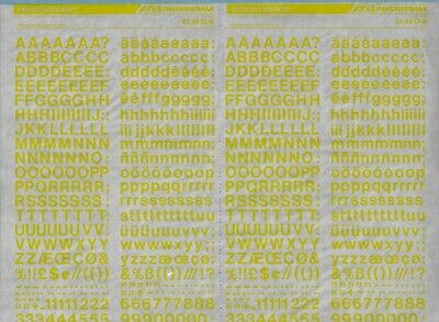 Fonts,Type Lettering Transfers A3 MECANORMA #308 HELVETICA MEDIUM 6.4mm