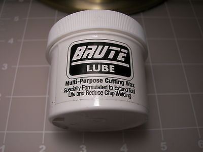 Brute Lube Metal Cutting, Drilling Wax, Grease. Multi Purpose for drill bits USA