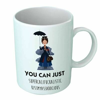 Mary Poppins Coffee Funny Cup Mug Top Gift Mother Day Her Him