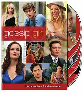 Gossip Girl: The Complete Fourth Season (DVD, 2011, 5-Disc Set) WORLD SHIP AVAIL