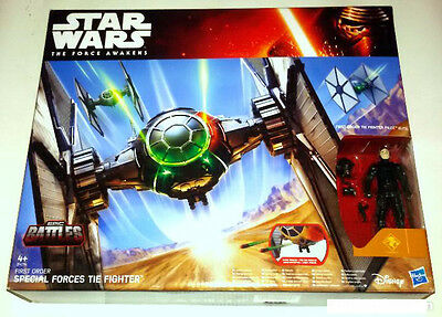 """Star Wars, Special Forces Tie Fighter  """"the Force Awakens"""". Hasbro, Disney"""