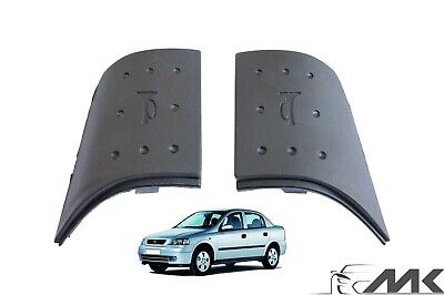2x Steering Wheel Horn Button Covers for Opel Vauxhall Corsa C Meriva A Pair