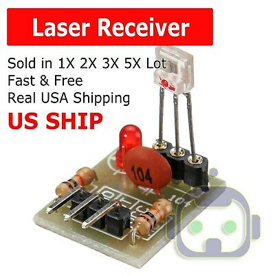 20Pcs Sensor Module non-modulator Tube for Arduino Laser Receiver Transmitter